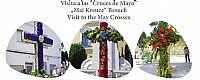 Visita a las cruces de mayo. Sábado día 2.
